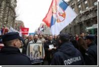 В Сербии прошли протесты против победы Вучича на президентских выборах