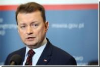 Глава МВД Польши допустил строительство лагерей для мигрантов