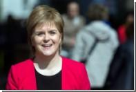 Первый министр Шотландии призвала голосовать за националистов назло Терезе Мэй
