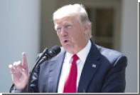 Трамп выбрал ракетный удар из трех сценариев действий в Сирии