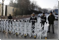 Турки устроили акцию протеста у здания российского генконсульства в Стамбуле