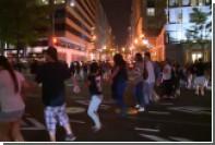 Американские индейцы устроили демонстрацию около отеля Трампа в Вашингтоне