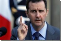 Асад прокомментировал ракетный удар США по сирийскому аэродрому