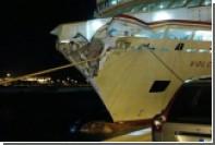 На Канарах паром со 140 пассажирами врезался в пирс