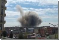 В сети появилось видео взрыва в Турции