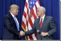 Пенс доложил Трампу о неудачном ракетном запуске КНДР