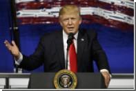 Трамп выразил надежду на мирное урегулирование ситуации на Корейском полуострове
