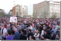 В Будапеште прошла демонстрация в поддержку университета Сороса