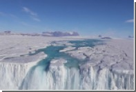 Реку Антарктиды показали на видео