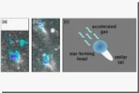 Обнаружена гигантская космическая «медуза»
