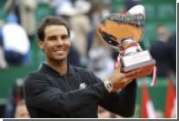 Надаль в рекордный десятый раз выиграл «Мастерс» в Монте-Карло