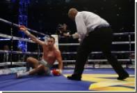 Кличко прокомментировал поражение в чемпионском бою с Джошуа