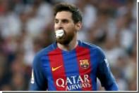 Месси в перерыве матча с «Реалом» выплюнул выбитый зуб