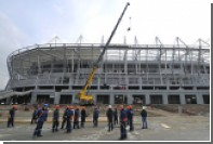 Строящие стадион «Ростов-Арена» рабочие устроили забастовку