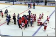 11-летние хоккеисты «Спартака» и минского «Динамо» подрались после матча