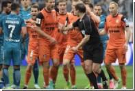 «Зенит» одолел оставшийся ввосьмером «Урал» в первом матче на «Крестовском»