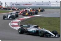 Пилот Mercedes Хэмилтон выиграл Гран-при Китая