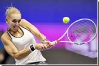 Россиянка Веснина стала лучшей теннисисткой марта по версии WTA