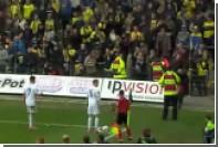 Фанаты забросали футболистов «Копенгагена» мертвыми крысами