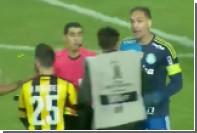 Бывший футболист «Ювентуса» устроил драку в матче Кубка Либертадорес