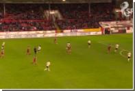 Игрок шотландского клуба промахнулся с нескольких сантиметров по пустым воротам