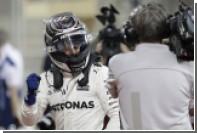 Пилот Mercedes Боттас впервые в карьере выиграл квалификацию «Формулы-1»