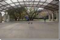 Японец побил мировой рекорд по прыжкам через огромную скакалку