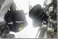 Пассажирский лайнер в Китае совершил полет с сумкой на шасси