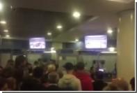 Паспортный коллапс в Домодедово сняли на видео