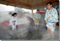 В Токио общественная баня попыталась привлечь японцев «школой для голых»