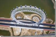 В Китае построили первое в мире колесо обозрения без спиц