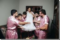 Бразильянка отпраздновала девичник в мужской компании