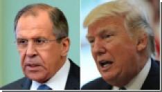 """Трамп назвал встречу с Лавровым """"очень хорошей"""""""