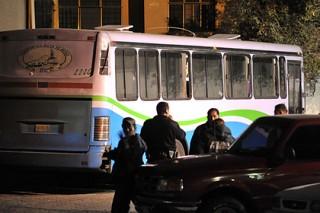 В Мексике трое преступников обобрали 29 полицейских