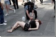 Очевидцы сообщили о намеренном наезде на пешеходов в Нью-Йорке