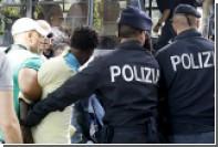 Полиция расселила стихийный лагерь мигрантов в Милане