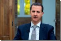 Асад приравнял политику западных стран к нацистскому террору