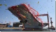 В Китае запустили первый авианосец собственного производства