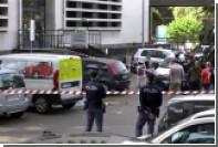 Появилось видео с места взрыва в Риме