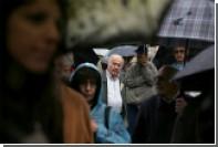 Греческие христиане провели марш против «электронного рабства»