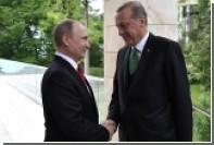 Путин и Эрдоган понадеялись на создание зон безопасности в Сирии