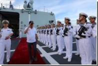 Дутерте отправил войска на спорный остров в Южно-Китайском море