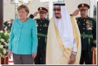 Меркель отказалась покрывать голову перед саудитами