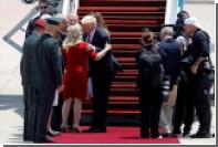 Трамп прибыл в Израиль с первым визитом