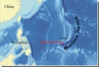 Китайский батискаф начал спуск на дно Марианской впадины