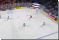 Итальянцы отметились курьезным автоголом на чемпионате мира по хоккею