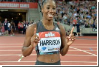 Американка со сломанной рукой выиграла забег на 100 метров с барьерами