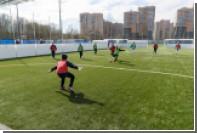 Воспитанники «Детской деревни — SOS» провели матч с игроками академии «Зенита»