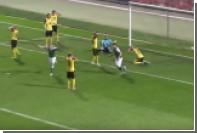 Украинский футболист отметился странным автоголом в матче Первой лиги