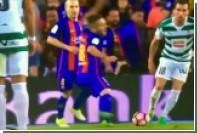 Футболист «Барселоны» заработал пенальти благодаря актерскому мастерству